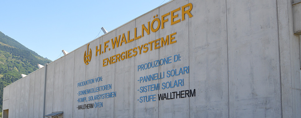 Wallnöfer H.F. Werkshalle