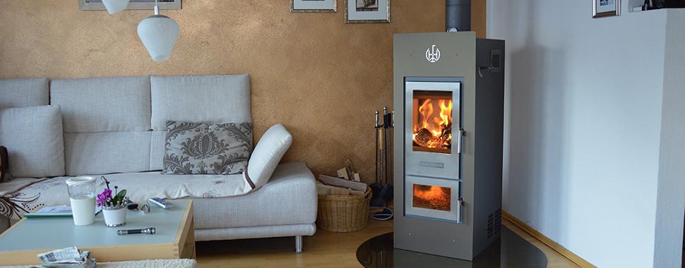 Bevorzugt Wasserführender Kaminofen Holzvergaser Preise - Wallnöfer ZS32