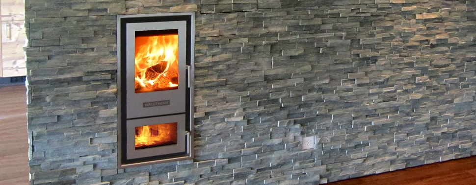 The High Efficient Wood Gasification Stove Walltherm 174